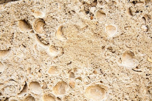 Surface de l'ancienne pierre brune antique.