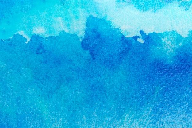 Surface avec aquarelle abstraite