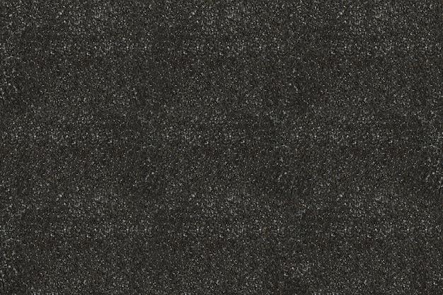 Surface d'asphalte noir