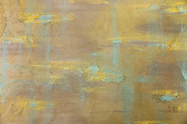 Surface en béton colorée et grossière