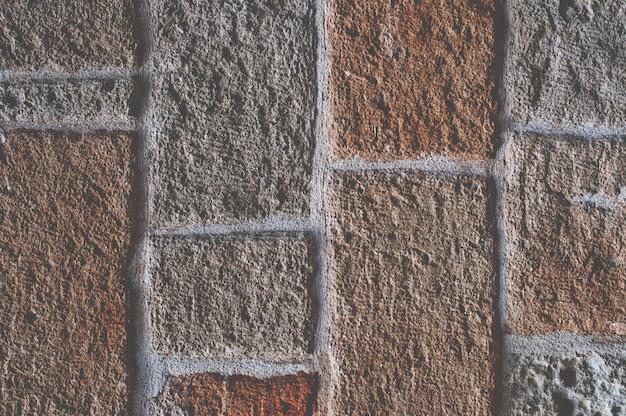 Surface avec des blocs de pierre