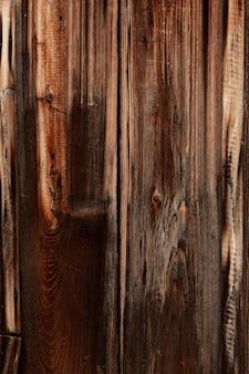 Surface en bois antique avec grain