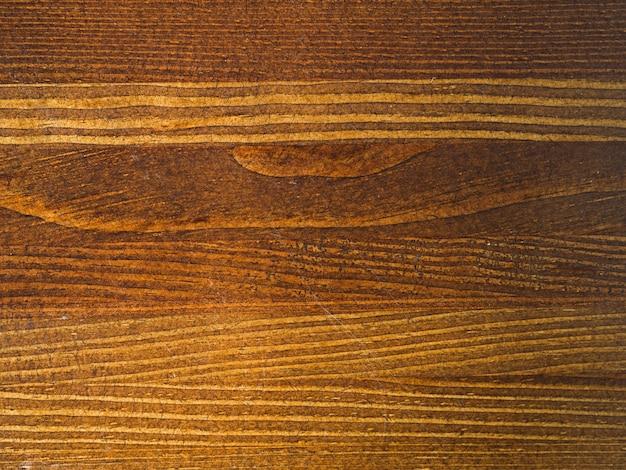 Surface en bois brun gros plan
