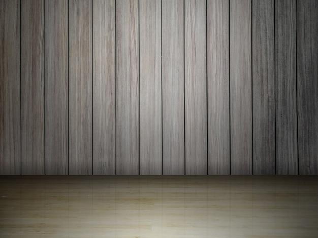 Surface en bois avec espace pour l'arrière-plan
