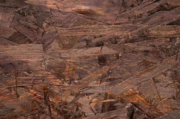 Surface en bois marron détaillée