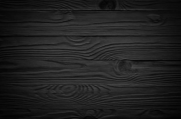 Surface en bois noir