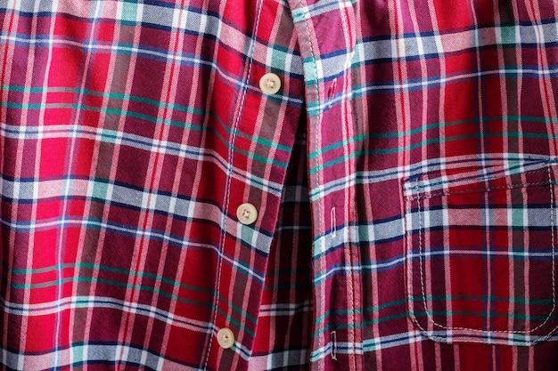 Surface d'une chemise.