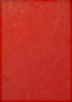 Surface en cuir rouge utilisée pour la décoration