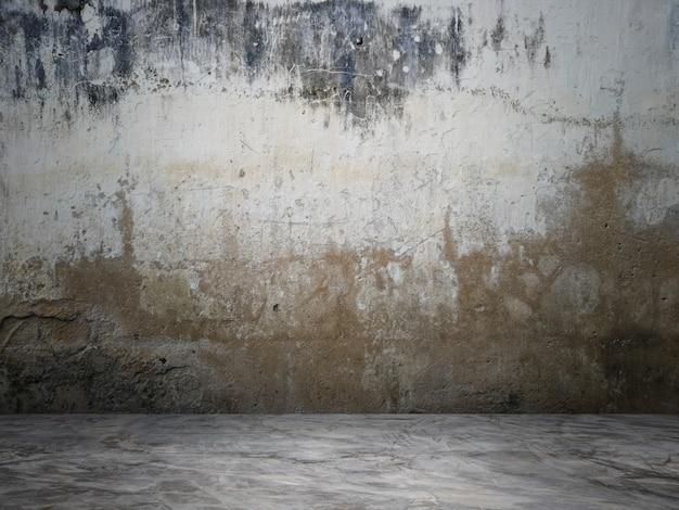 La surface du mur est vide pour le fond.