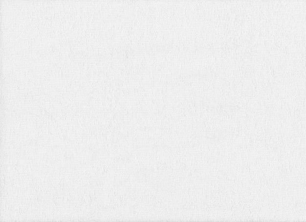Surface du tissu blanc, texture des choses pipe en tissu blanc.