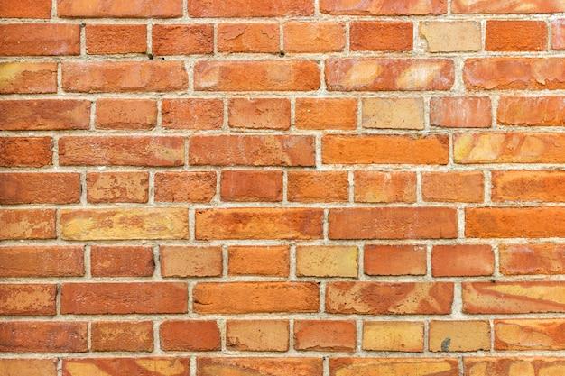 Surface du vieux mur de brique sale vintage avec plâtre, texture