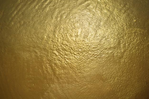 Surface de fond de texture en métal doré