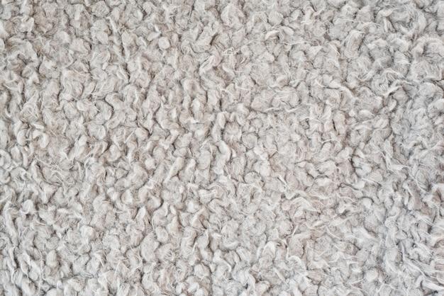 Surface grise texturée, fausse fourrure.