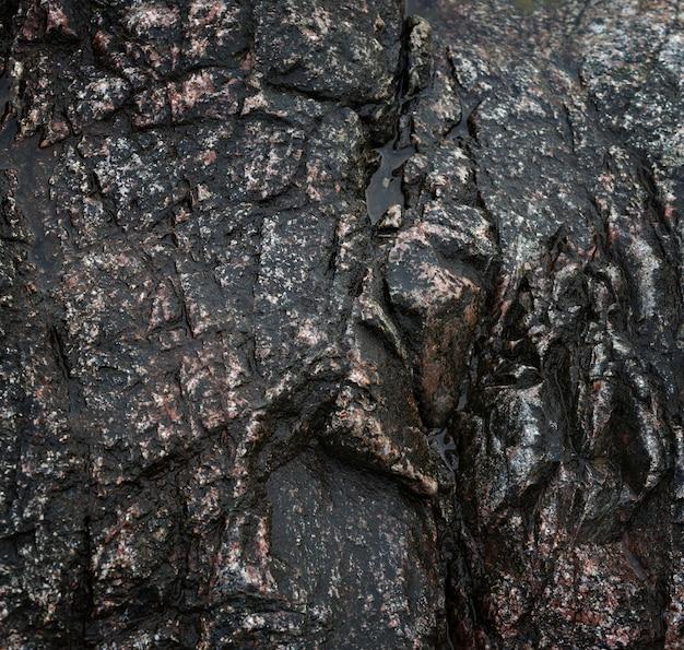 Surface lisse en pierre pour le fond