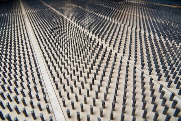 Surface de la machine de découpe de tôle