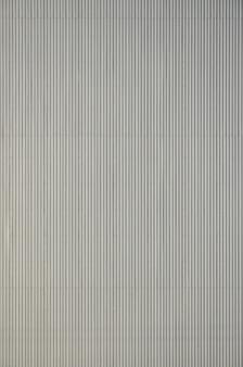 Surface en métal ondulé blanc