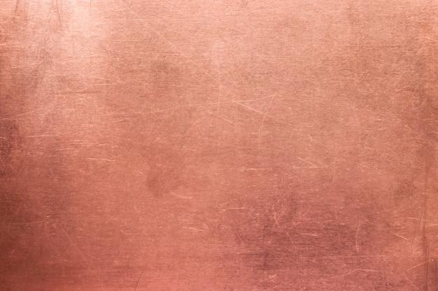 Surface en métal rouge