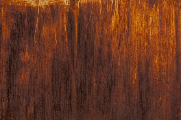 Surface métallique rouillée avec surface rugueuse