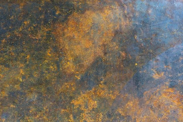 Surface métallique rouillée