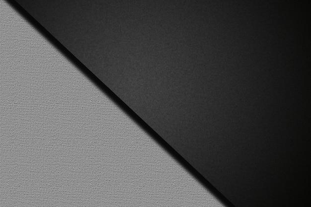 Surface noire et blanche