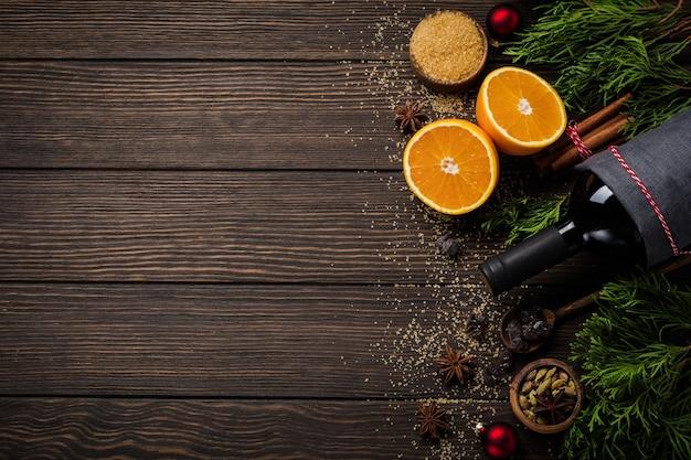 Surface de la nourriture du nouvel an