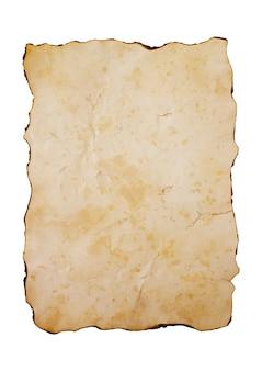 Surface de papier ancien vintage
