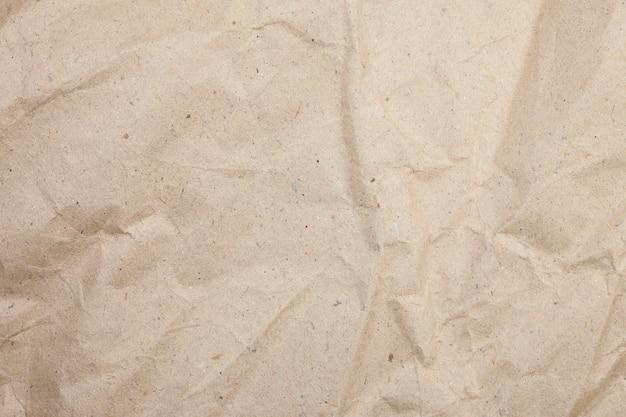 Surface de papier brun texturé