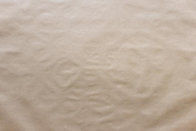 Surface de papier kraft texturée inégale avec surface inégale