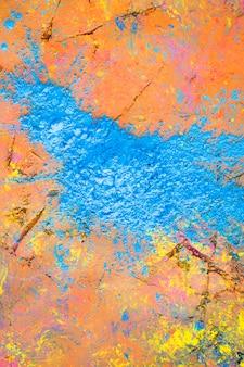 Surface peinte brillante