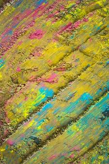 Surface peinte en jaune