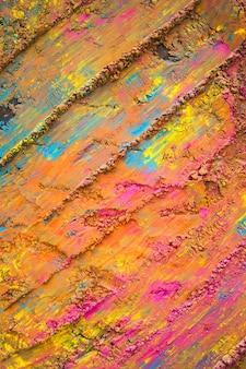 Surface peinte en orange