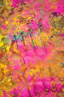 Surface peinte rose