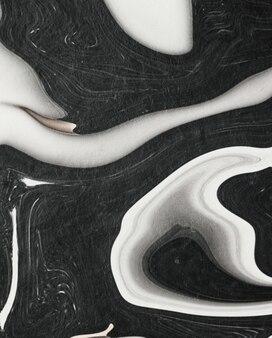Surface de pierre de marbre moderne pour la décoration flatlay luxueux fond textures abstraites et style ...