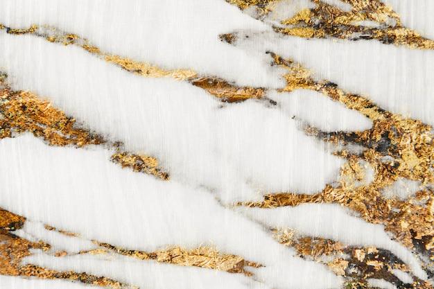 Surface en pierre marbrée blanche