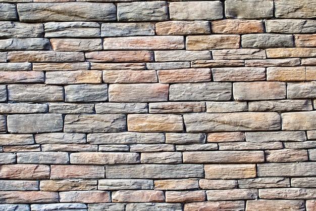 Surface de pierre solide rugueuse colorée