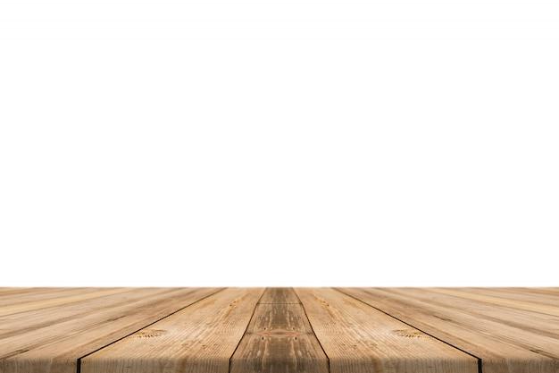 Surface de planches de bois
