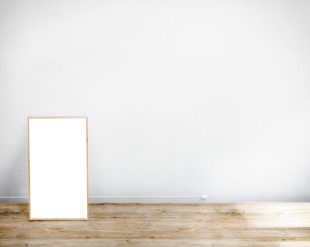 Surface de la plaque vierge annonçant le concept de message