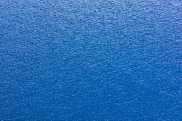 Surface de plein cadre de fond d'eau bleue