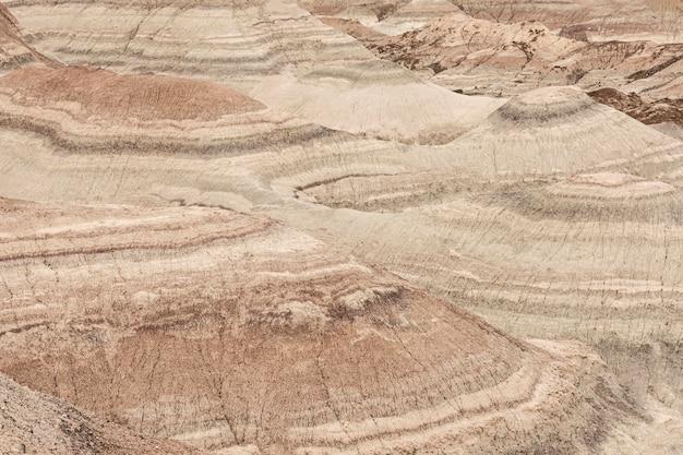 Surface de la roche et du sol