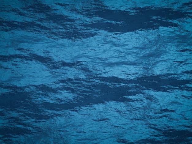 Surface de roche massive bleue de rendu 3d. fond de stonewall.