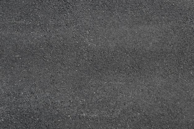 Surface de la route goudronnée.
