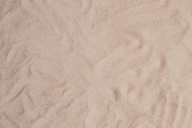 Surface de sable avec des formes abstraites