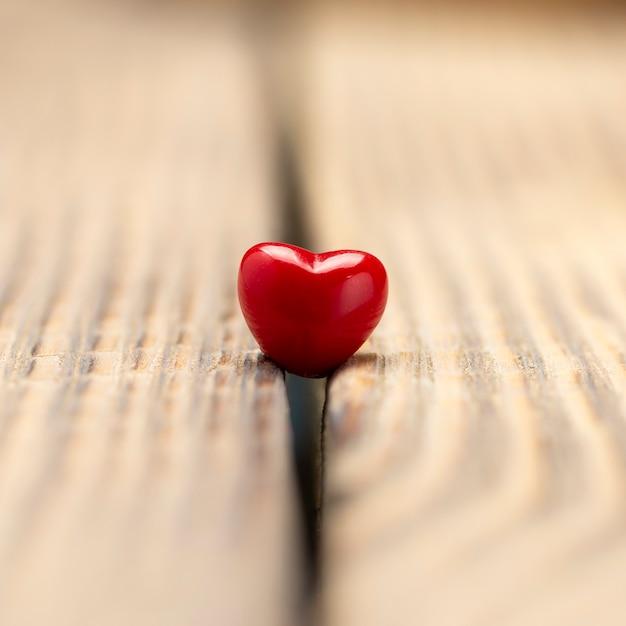 Surface de la saint-valentin avec des coeurs