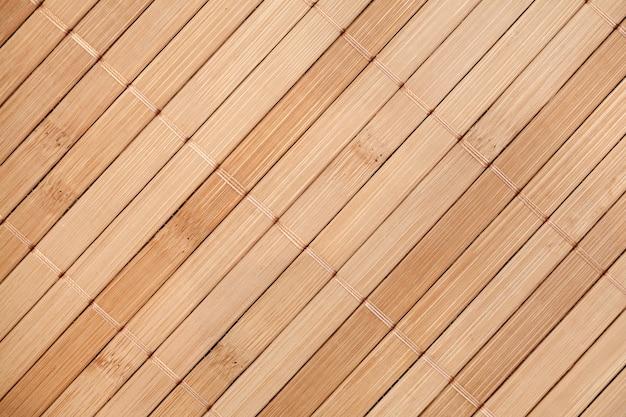 Surface de la serviette en bambou, vue de dessus, espace copie