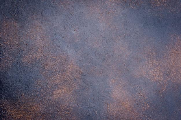 Surface de surface texturée grunge rouillé béton foncé