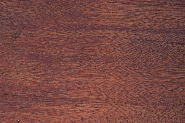 Surface De Table En Bois Rouge Photo Premium