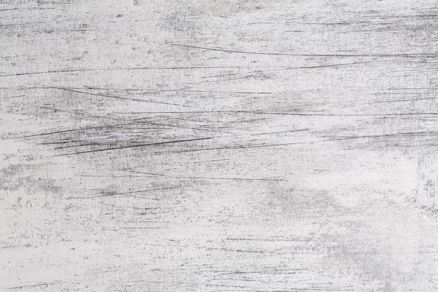 Surface de la table rayée