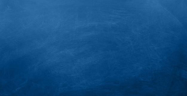 Surface de tableau vide de couleur bleu classique