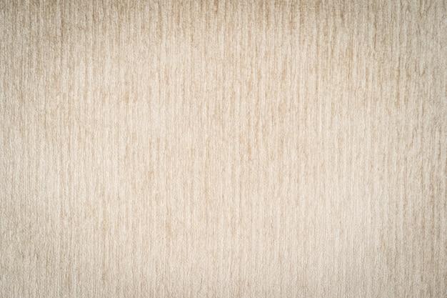 Surface et texture abstraites en coton et tissu de couleur marron