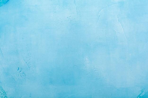 Surface de texture de béton neigeux abstrait bleu
